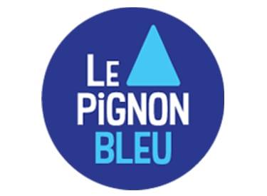 Pignon bleu